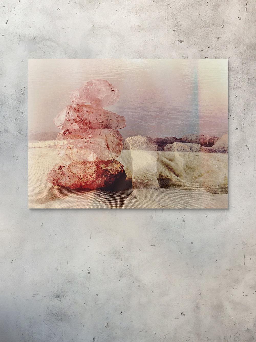 mineral forest fine art - balance