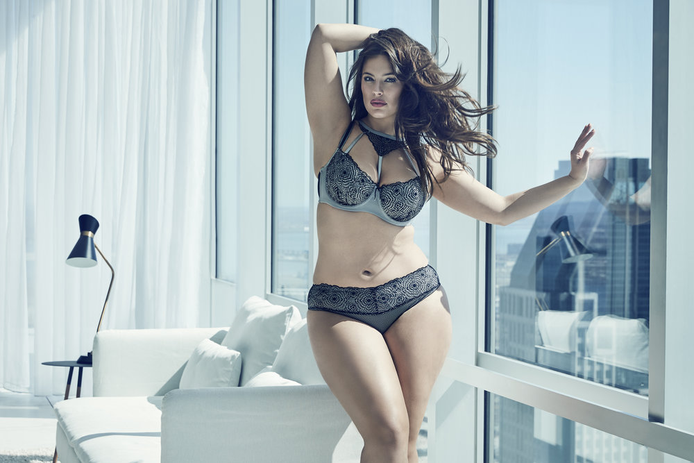 Ashley Graham for ADDITION ELLE - Photographer: Max Abadian