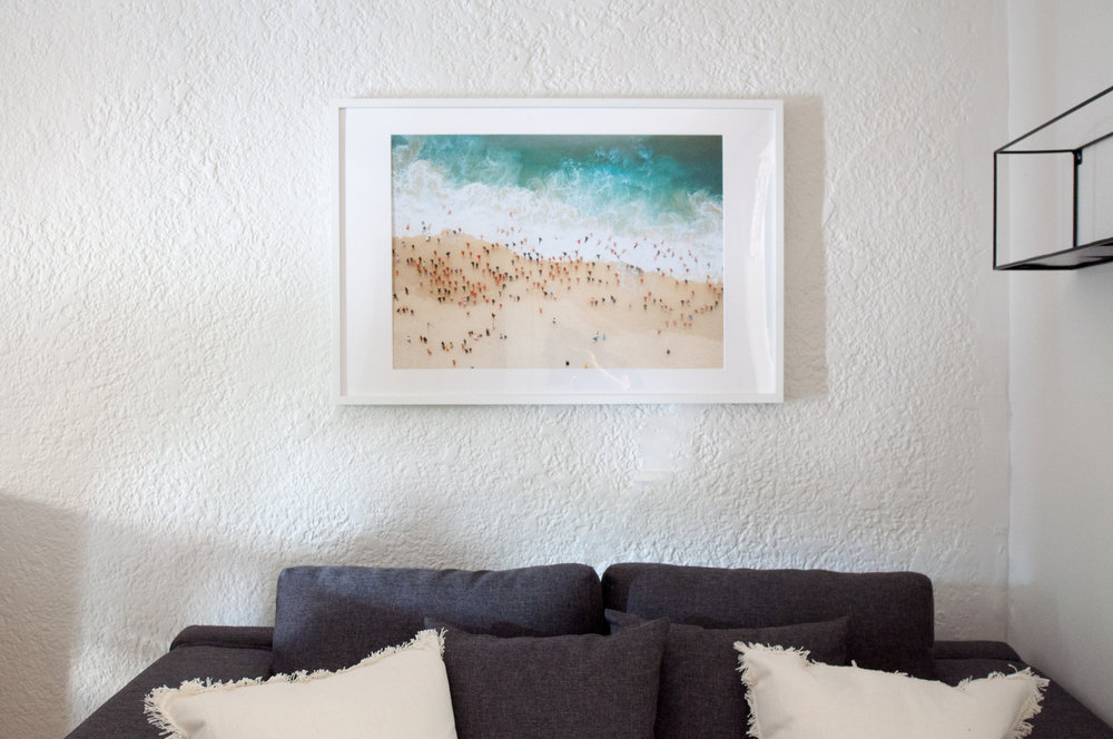 Art choice:Earth without ART is just Eh! - By carefully choosing a few key pieces of appropriate art that compliment your space, this can add instant interest and edge to any property.  See our archived post on choosing artwork here.