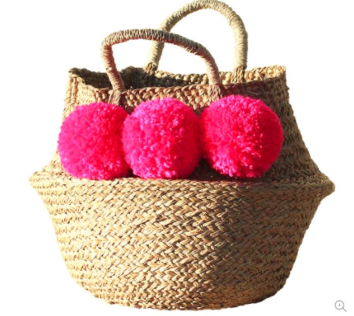 shocking-pink-pompom-balinese-woven-belly-basket.png