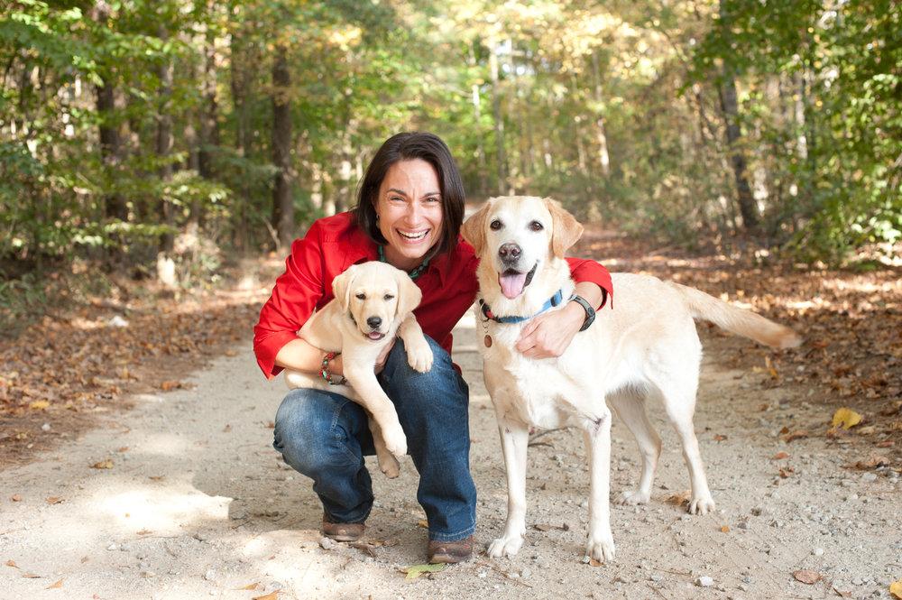 Kelsey Browning & Pups.jpg