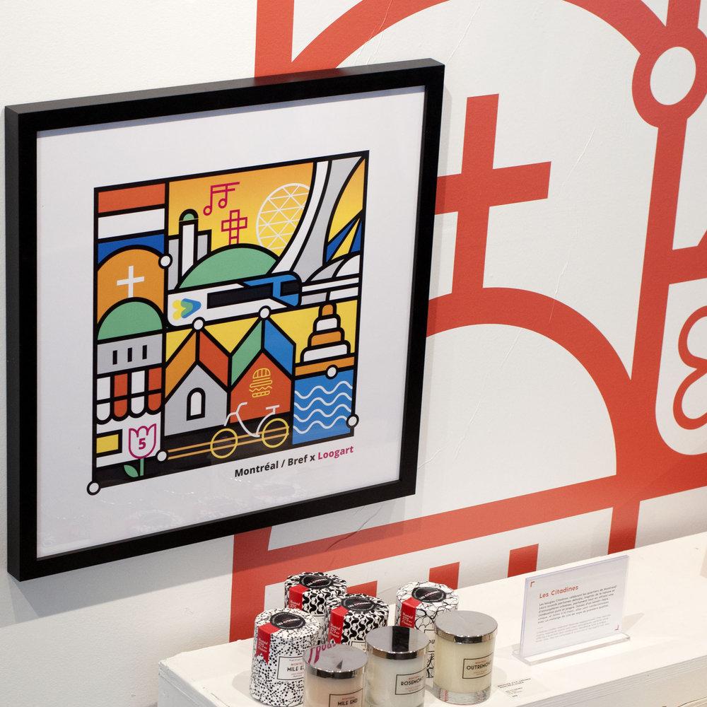 Loogart   Loogart est un illustrateur dont ses illustrations originales du paysage urbain de Montréal ont grandement contribué à démarrer sa carrière.