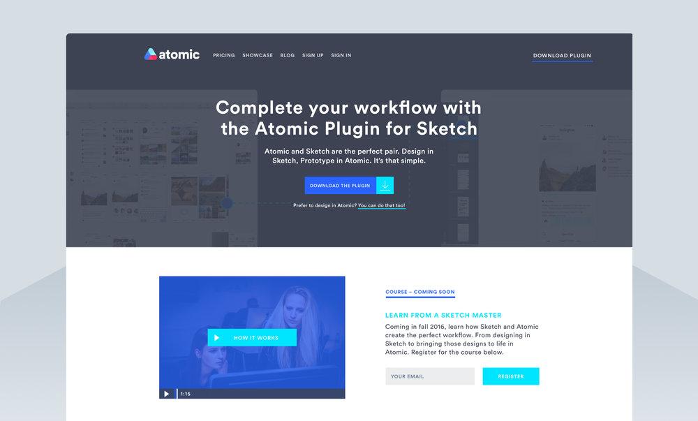 Sketch plugin page