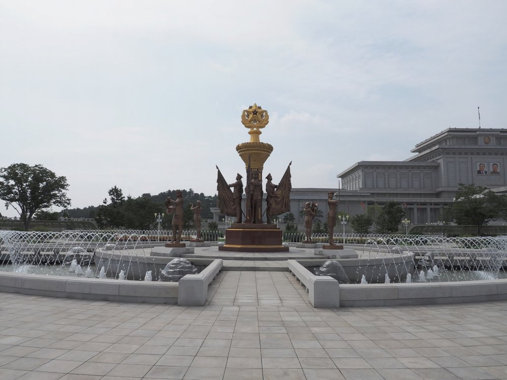 Fountains at the Palace of the Sun