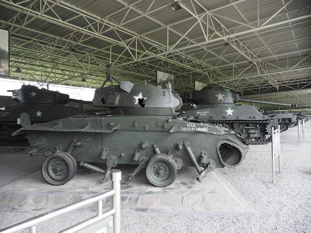 Captured tanks