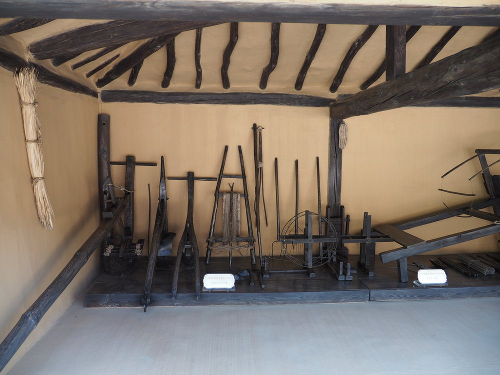 Various tools used for farming
