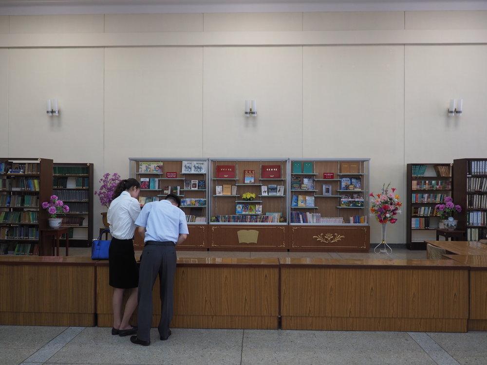Librarian's desk