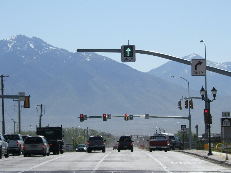 UDOT has the option to remotely handle traffic in variable lane use intersections.