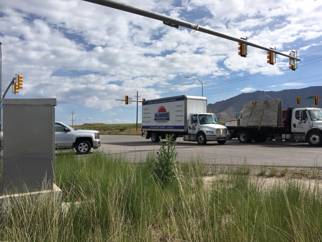 The UPStealth Battery Backup System inside this UDOT traffic cabinet is environmentally safe, maintenance free, can tolerate temperature extremes and has stopped power bumps from affecting traffic.