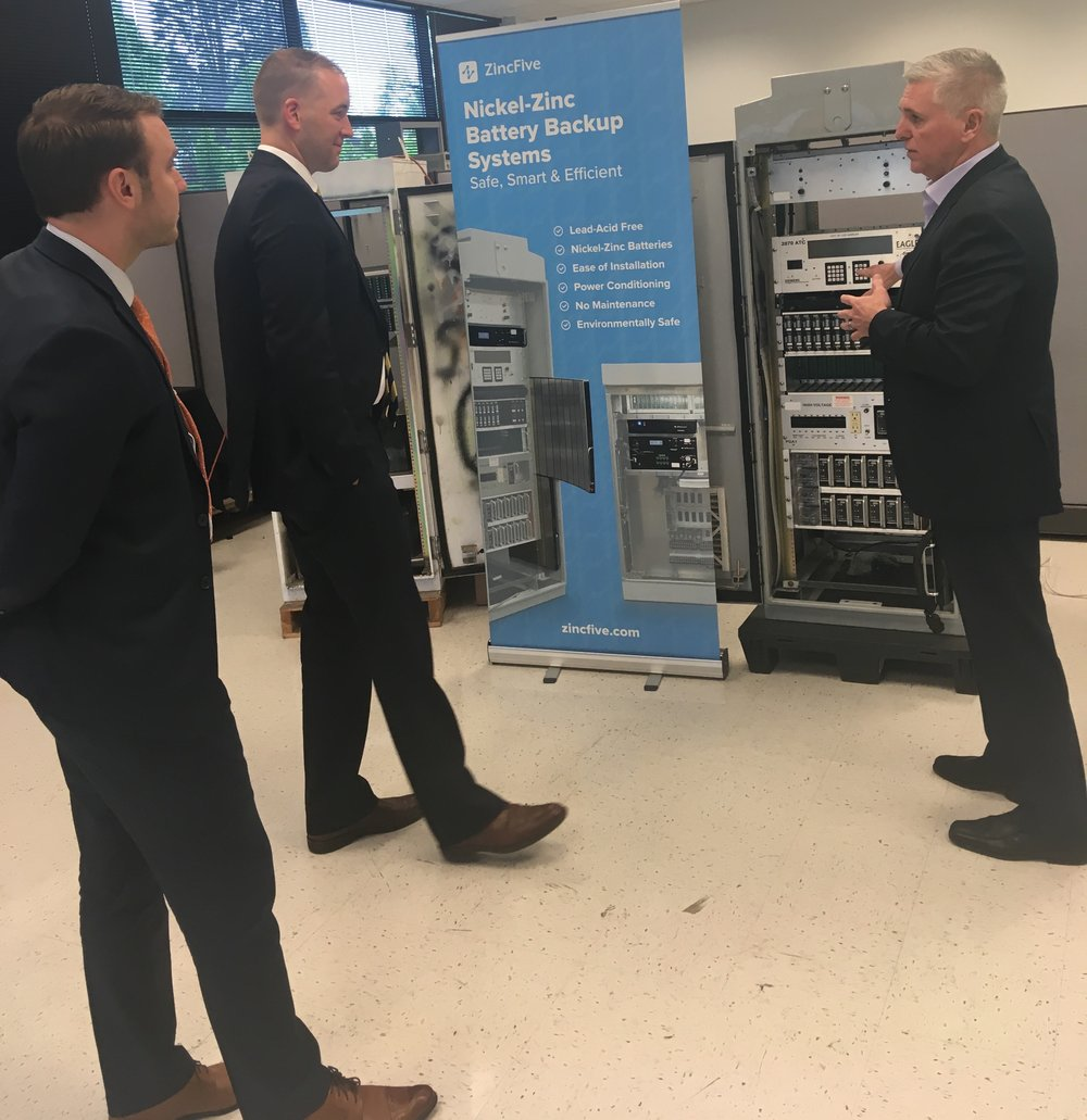 Legislative Director for Oregon State Treasury, Ryan Mann; Oregon State Treasurer, Tobias  Read; and ZincFive CEO/Co-founder Tim Hysell discuss ZincFive's transformational battery solutions.