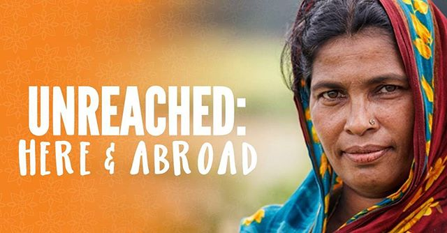 "Join us tonight to talk about ""the UNREACHED""... 7pm-9pm in the Youth Center. See you there!"