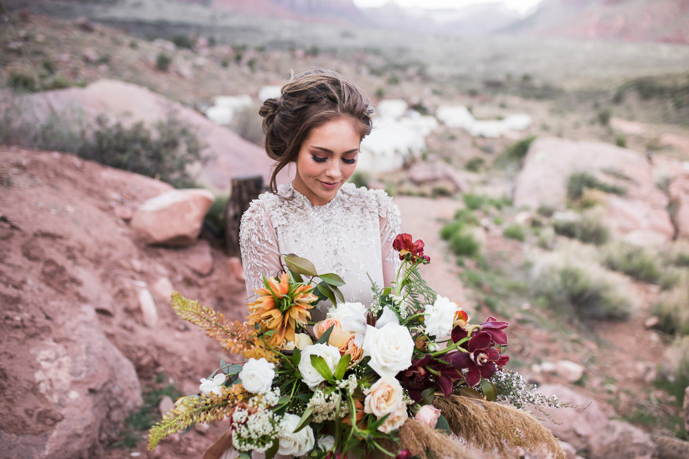 Elizabeth M Photography Styled Elopement Zion National Park.jpg