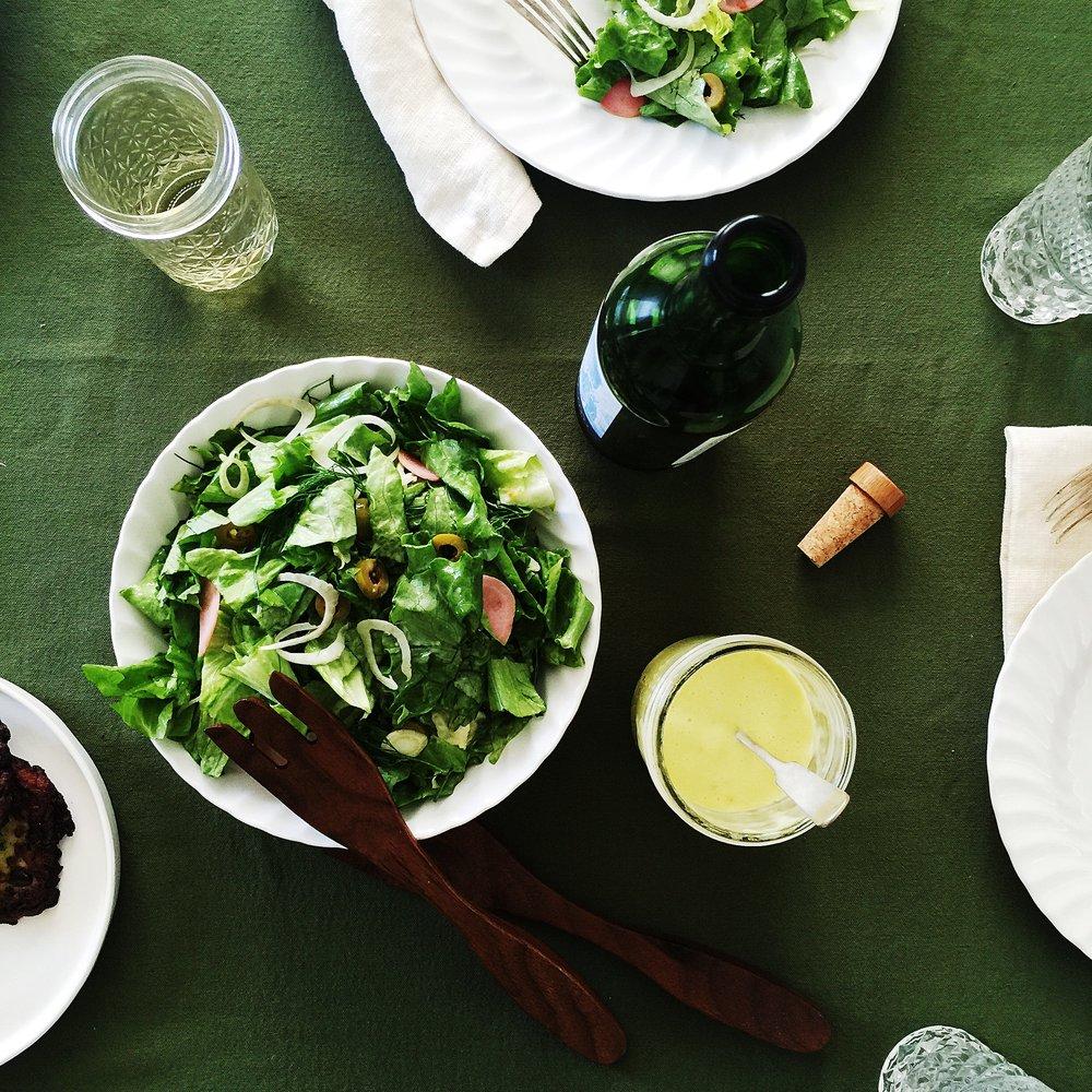 Sorta Provencal Salad -