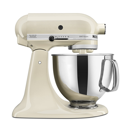 Cream colored mixer