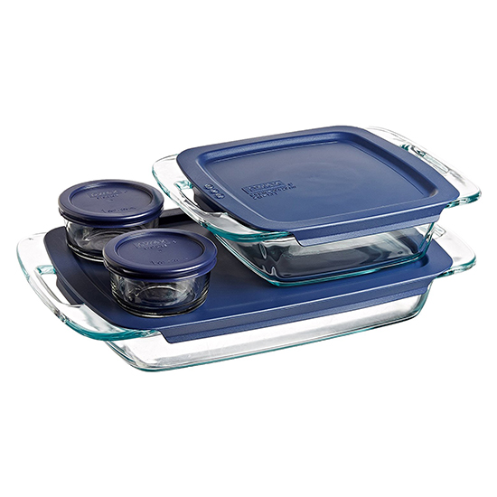 Bakeware with lids