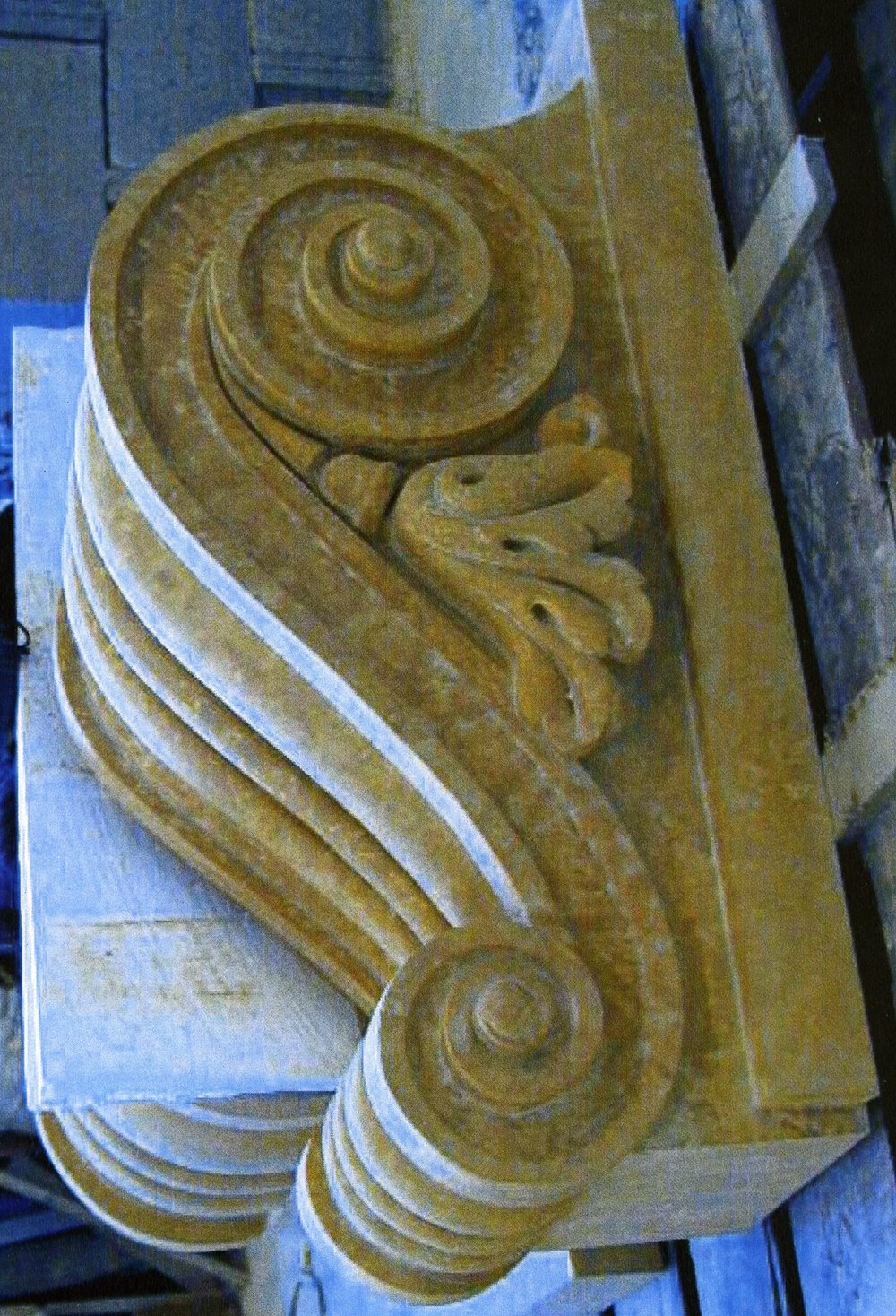 Carved Keystone