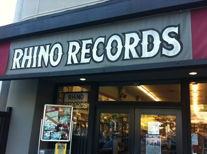 Rhino Records, Claremont, CA.