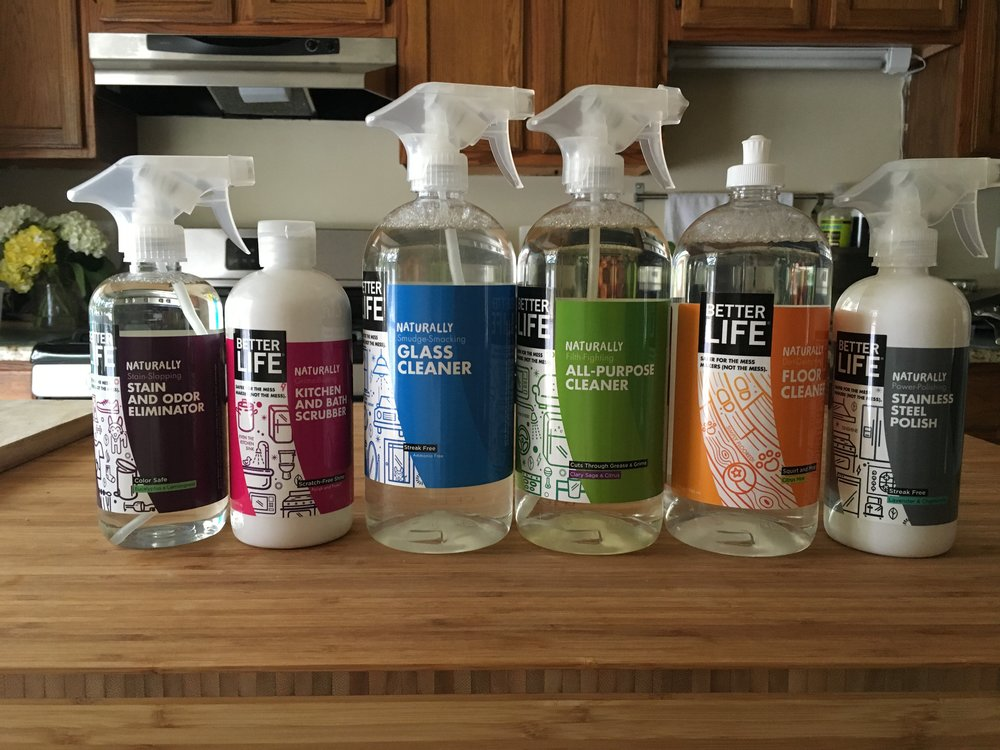 Favorite Things Betterlife Cleaning Products Orange Mommy Co