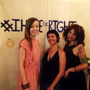 Danielle Elleman, Mora Fernández and Chauntel Gerdes, Project Envision NYC´s Co-leaders