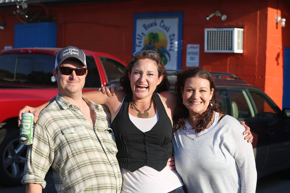 Joel Grubb, Leslie and Jessica Knock