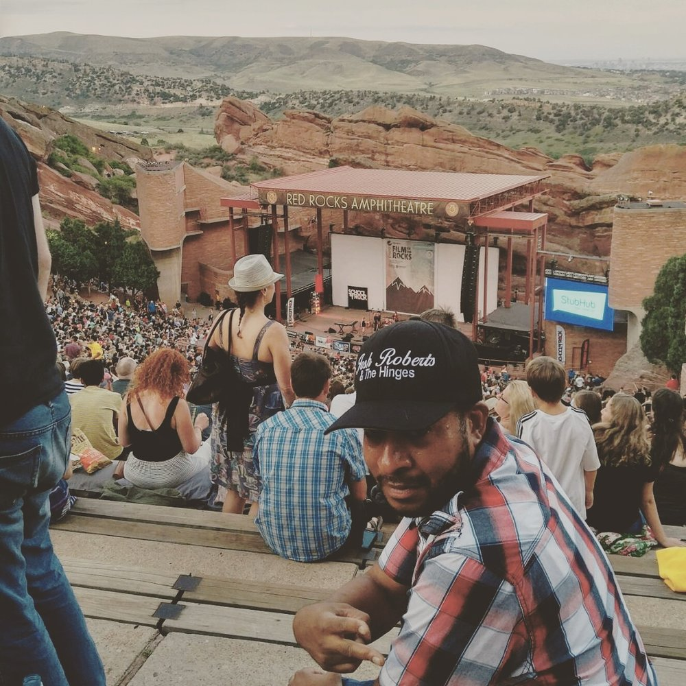 Moses first time @ Red Rock Amphitheatre