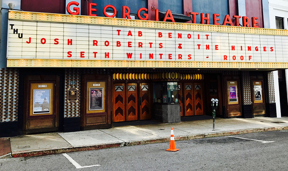JRATH @ Georgia Theater on marquee.JPG