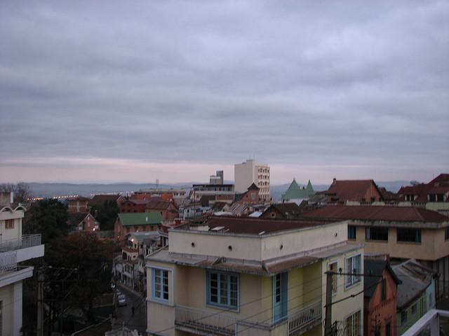 View of Antananarivo from Radama Hotel