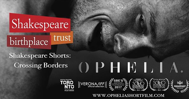 It's #shakespearesunday and we are so pleased to announce that we have been selected for the @shakespearebtrust's Shakespeare Shorts: Crossing  Borders!  #filmfestival #filmmaking #shakespearelives