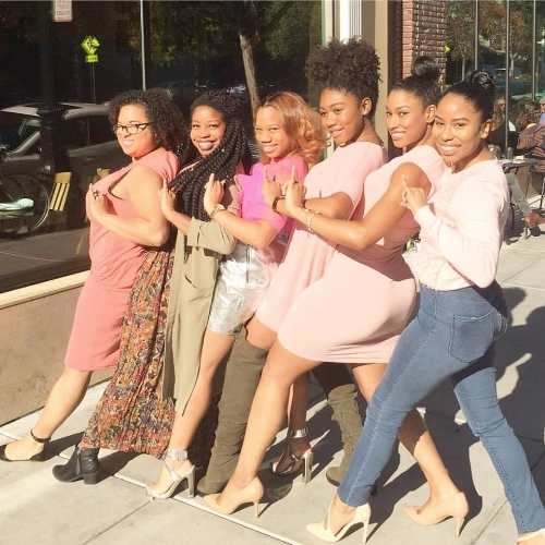 Sorors and I at the #WerqueDominiqueLaunch brunch