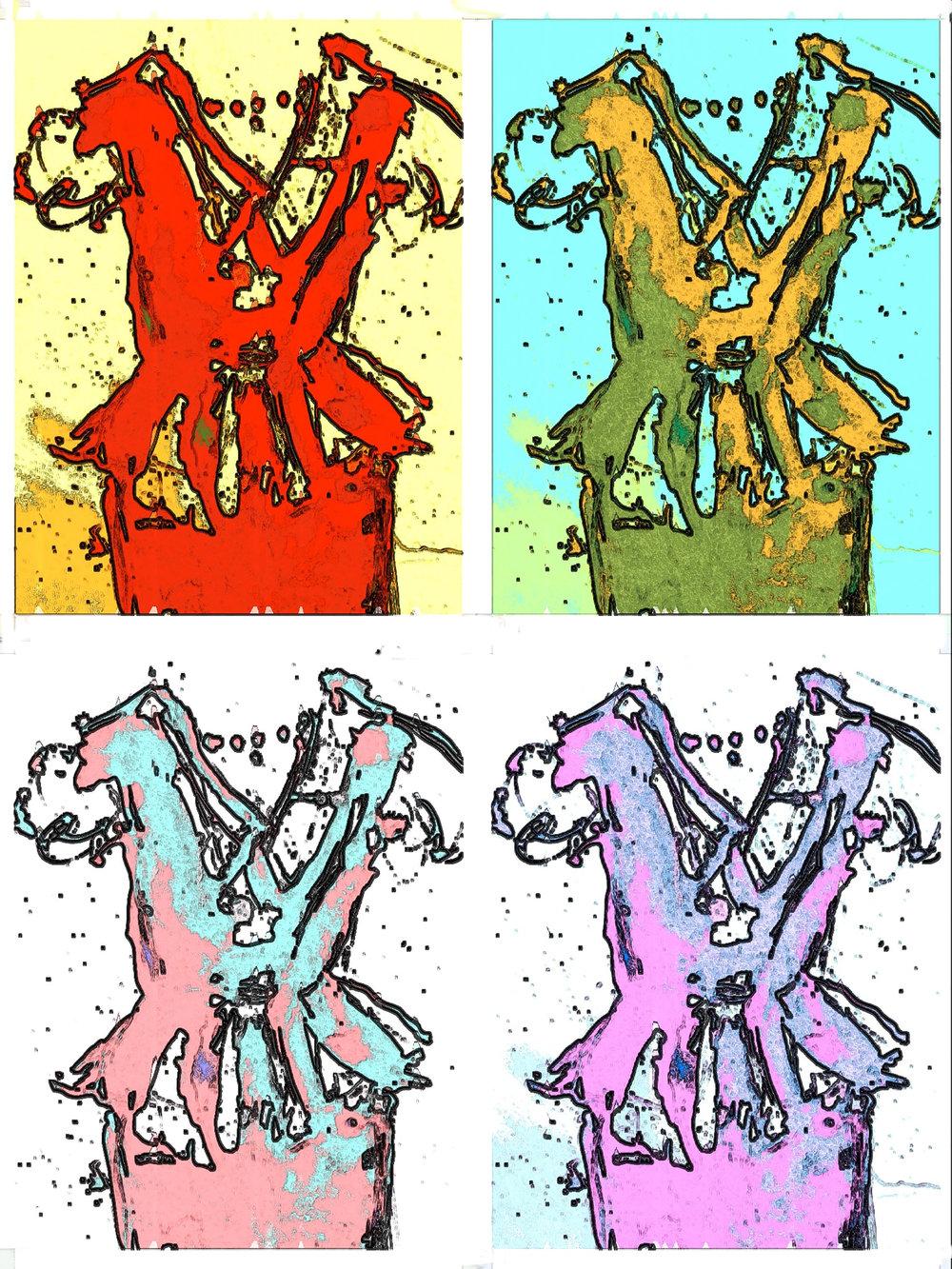 Four Dresses -