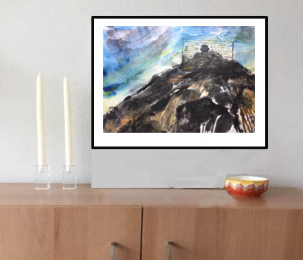 Framed an matted prints available, in selected sizes -