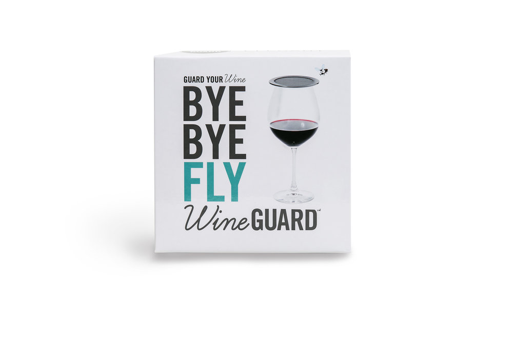 bye bye wine fly guard