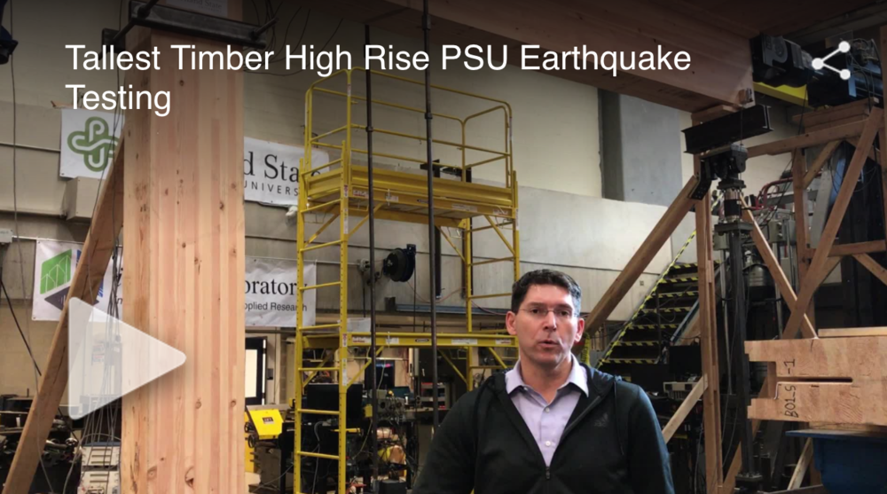 Portland wooden high-rise gets earthquake test, KOIN 6 News Staff, November 29, 2016