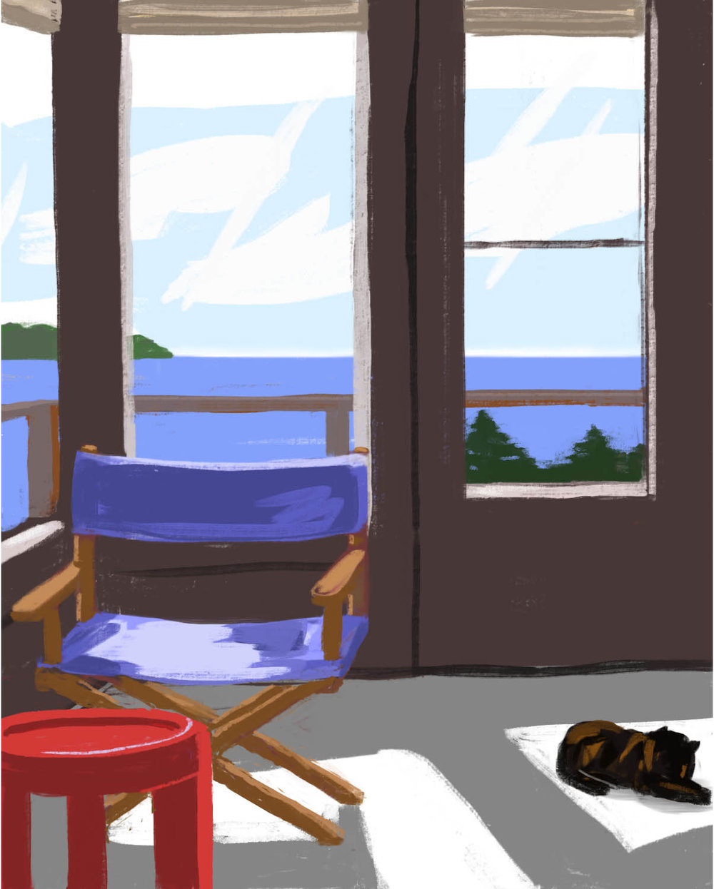 Oceanside Cabin 2