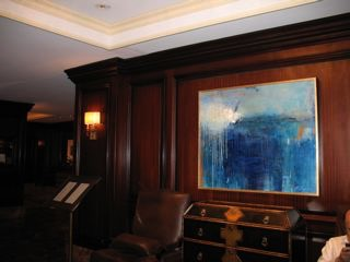 Installation view at the Intercontinental