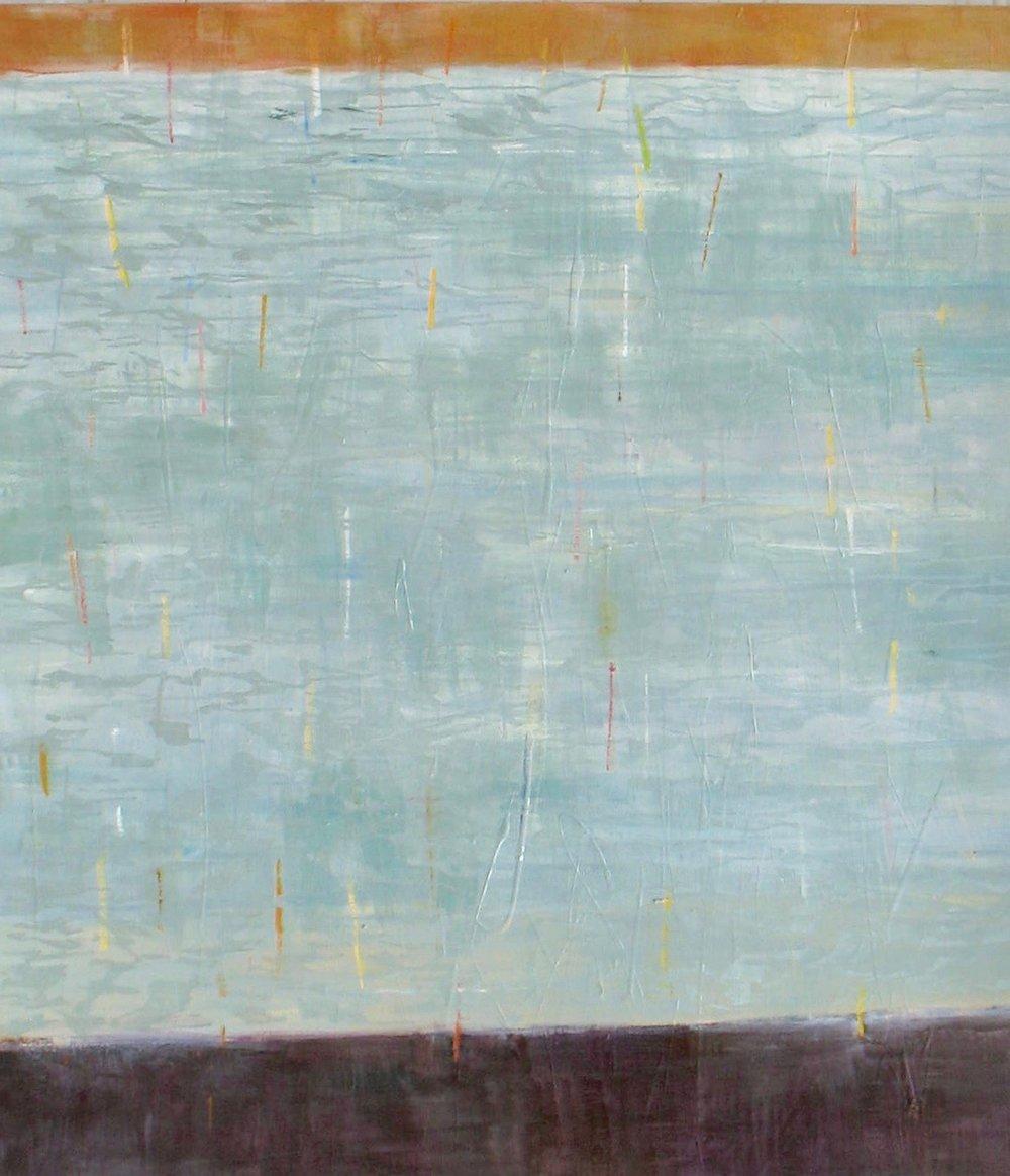 """Incidental"" 54""H x 48""W. Acrylic on Canvas. $4200"