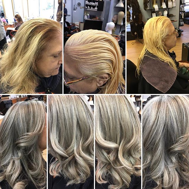 When you need to be grey#jbeverlyhillscolour #mastercolourist artist@work #greysthenewblonde#LLS