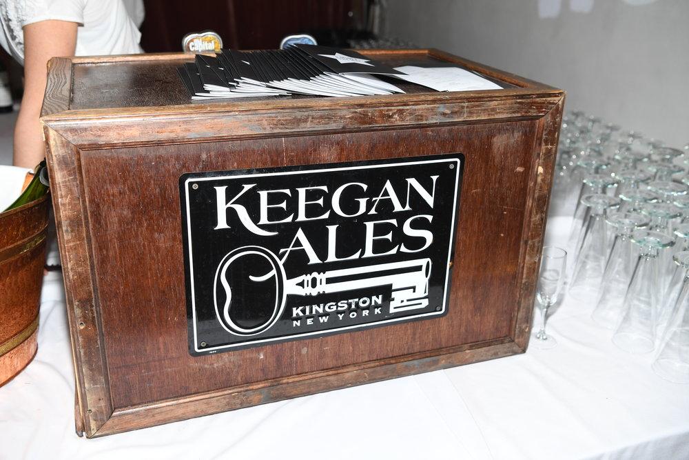Local brew courtesy of Keegan Ales