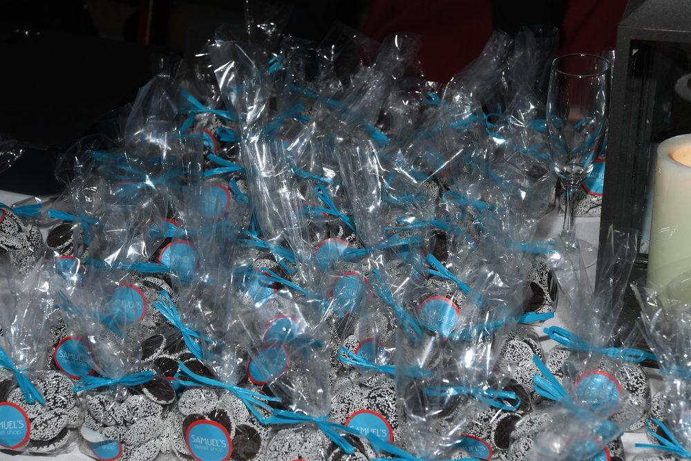 Take home treats supplied by Samuel's Sweet Shop