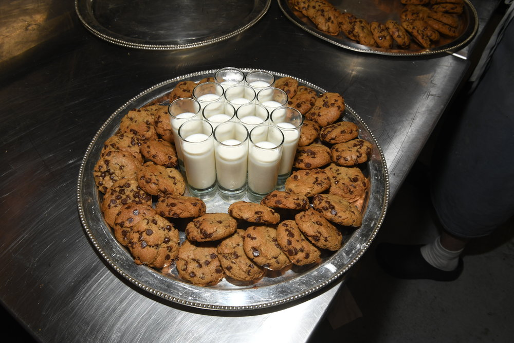 Chocolate Chip Cookies and Egg Nog from Chef Rei Peraza of Pan Zur