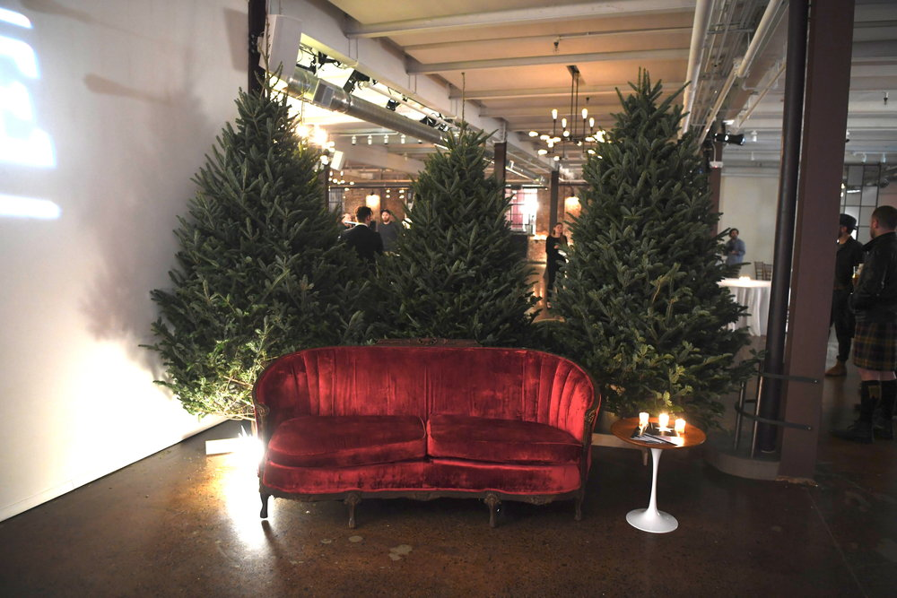 Christmas Trees supplied by Hardenburgh Tree Farm, Ulster Park