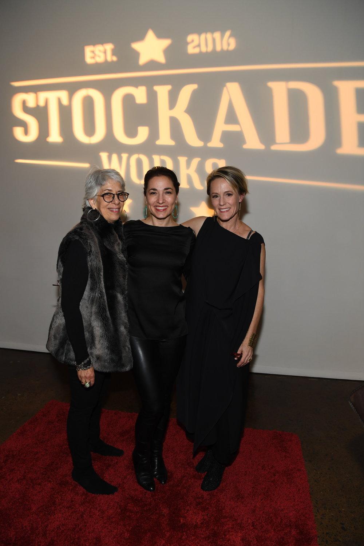 Jane Hoffman, Cassandra Del Viscio & Mary Stuart Masterson