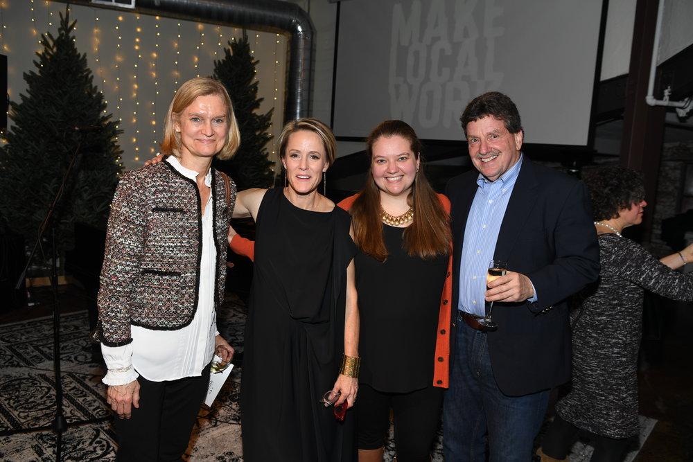 "Kristine Hamann, Mary Stuart Masterson, Anna Friedberg & Alan ""Fry"" Friedberg"