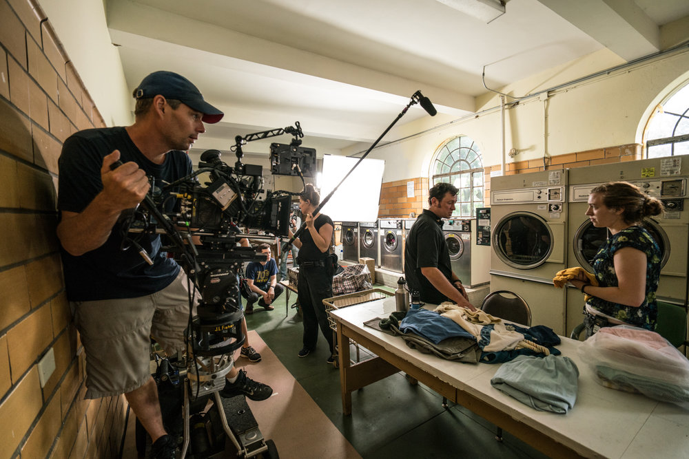 Director of Photography, Peter Masterson on  The Rest of Us  shoot