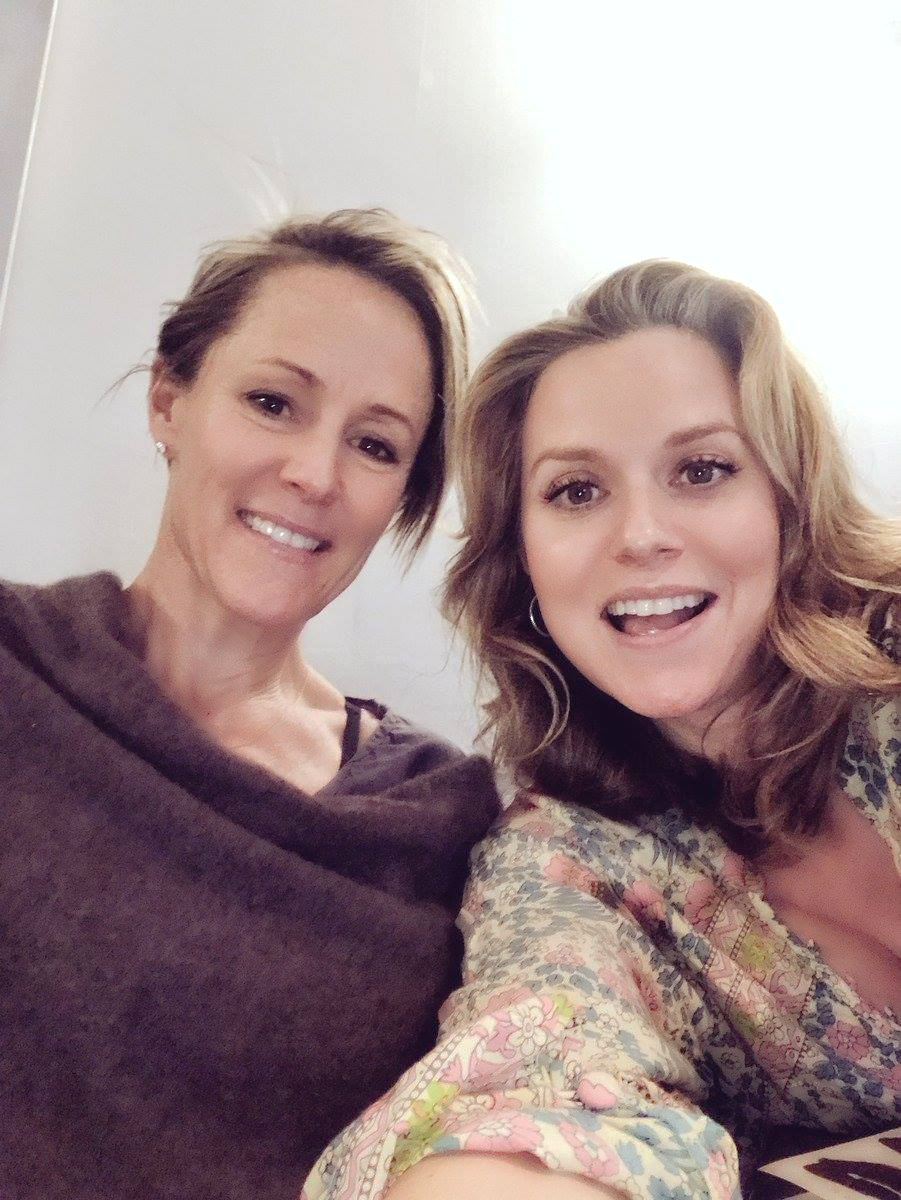 Mary Stuart Masterson and Hilarie Burton