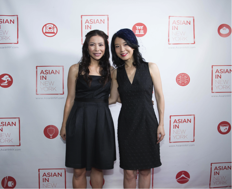 Alice Yim with AsianInNY host Diana Lee