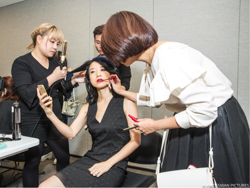ATO Hair and Monica Wu are styling for Alice Yim