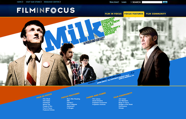 Milk – drama about Harvey Milk, 70s gay activist in SF that was assassinated