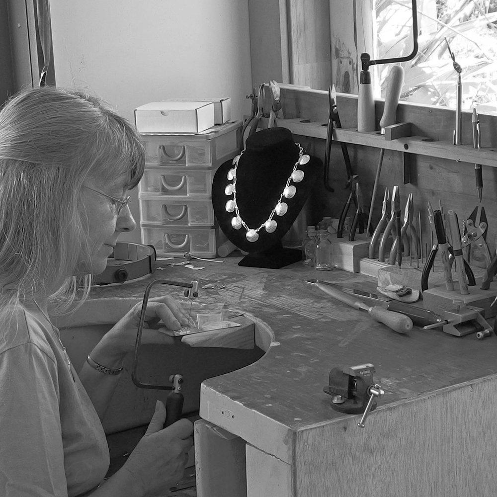 Sue Shore at work in her studio..jpg