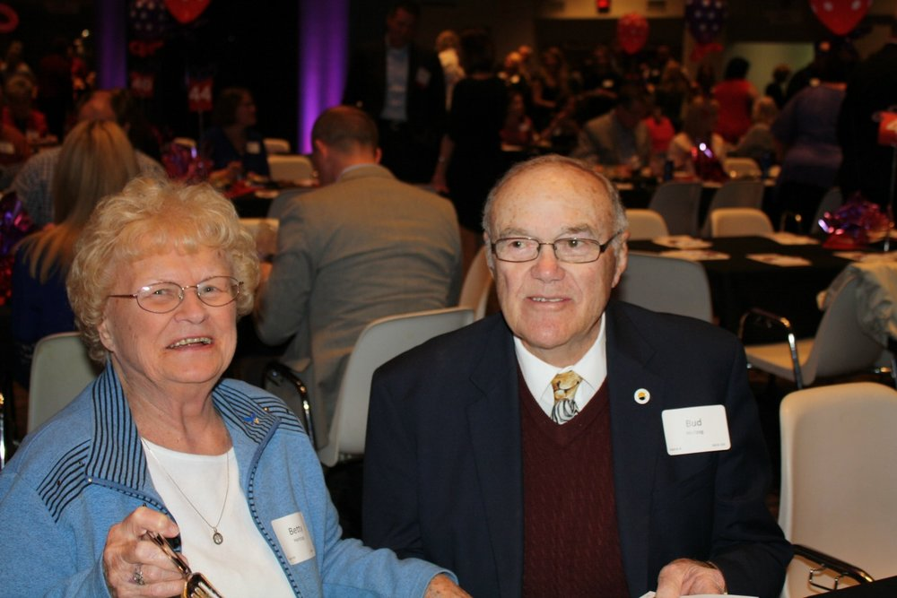 "Dr. Robert ""Bud"" and Betty Hertzog at Taste of Lee's Summit."